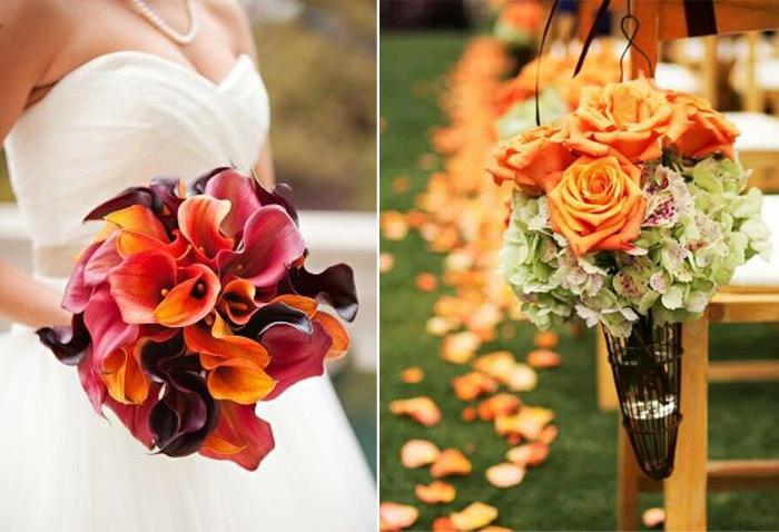 Cómo preparar tu boda en Otoño