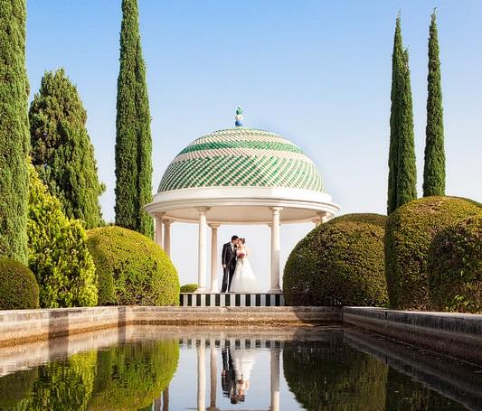 El Jardín de la Concepción, en Málaga, un lugar mágico para celebrar eventos
