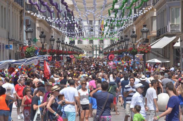 Lepanto, con la Feria de Málaga