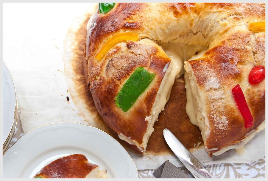 Roscón de Reyes, indispensable para terminar las fiestas navideñas